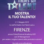 11 MAGGIO CASTING ITALIA'S GOT TALENT A FIRENZE