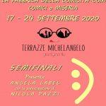 17 e 24 SETTEMBRE LE SEMIFINALI DELLA FABBRICA DELLA COMICITA'.COM 2020